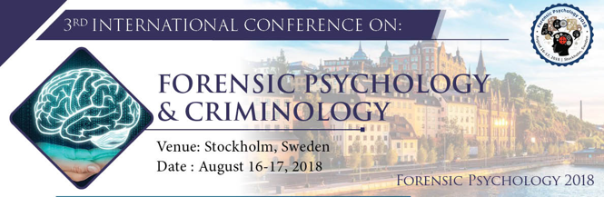 Efpa Event 3rd International Conference On Forensic Psychology Criminology