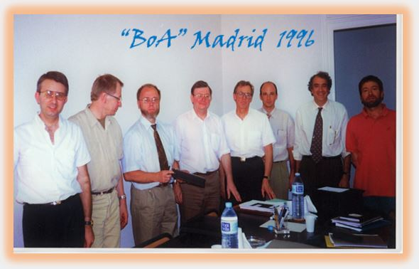 EFPA BOA Madrid 1996