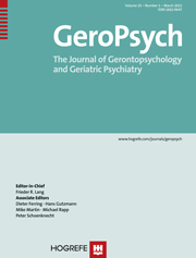 GeroPsych Journal